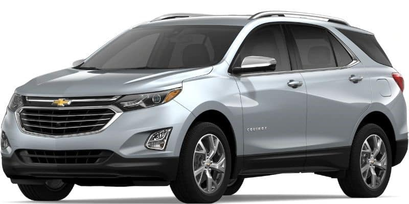 2019 Chevy Equinox in Silver Ice Metallic
