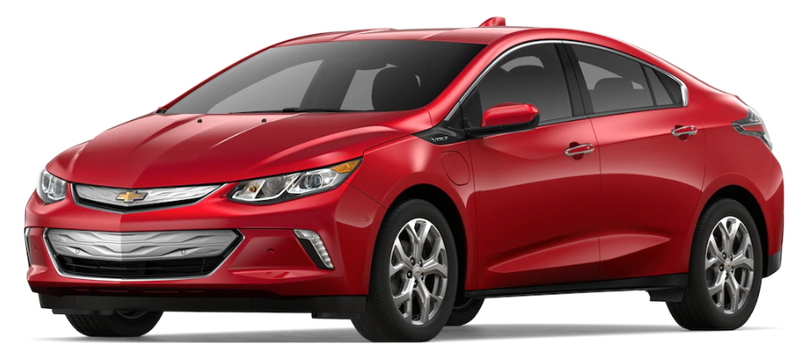 2019 Chevy Volt in Cajun Red Tintcoat