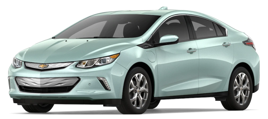 2019 Chevy Volt in Green Mist Metallic