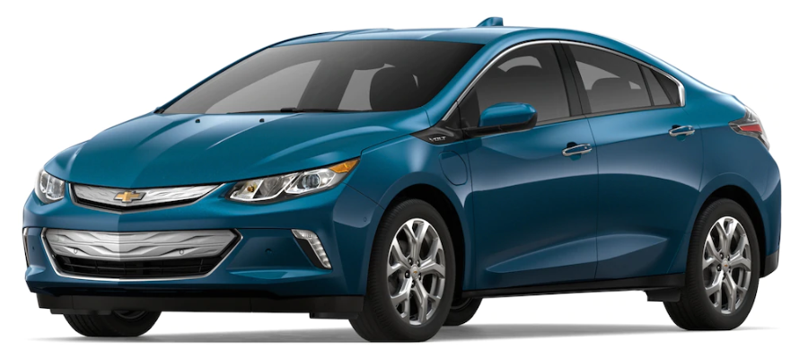 2019 Chevy Volt in Pacific Blue Metallic