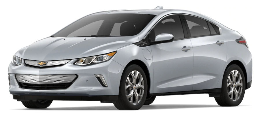 2019 Chevy Volt in Silver Ice Metallic