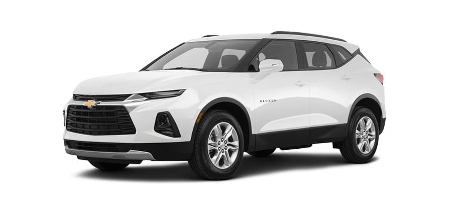 2049 Chevrolet Blazer White