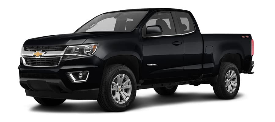 2019 Chevrolet Colorado Black