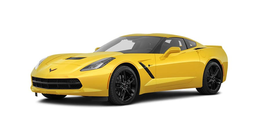2049 Chevrolet Corvette Coupe Yellow