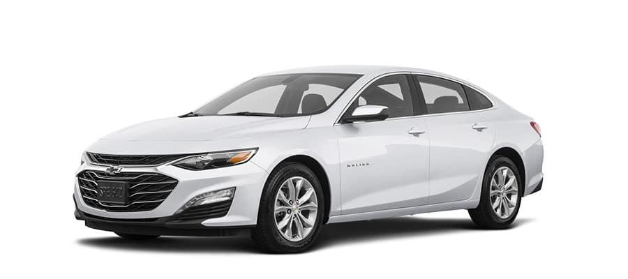 2019 Chevrolet Malibu White