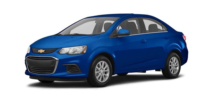 2019 Chevrolet Sonic Blue