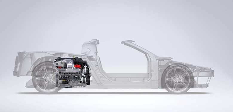 Chevrolet 2020 Corvette Engine
