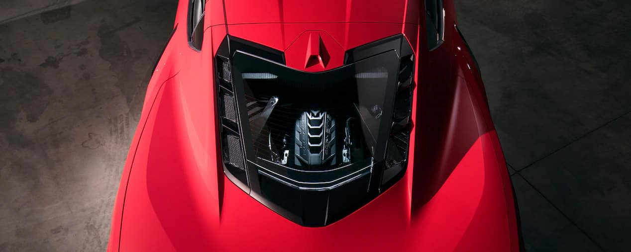2020 Chevrolet Corvette C8 Stingray Mid Engine View