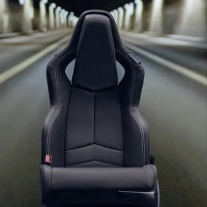 Chevrolet 2020 Corvette Seat LT1 Black