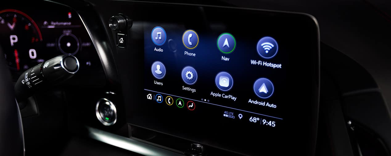 Chevrolet 2020 Corvette Touch Screen