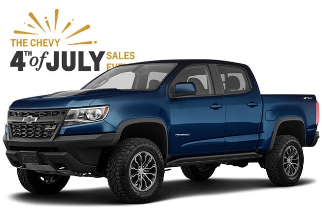 4th of July Chevrolet Sales Event Colorado