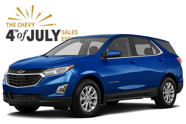 4th of July Chevrolet Sales Event Equinox