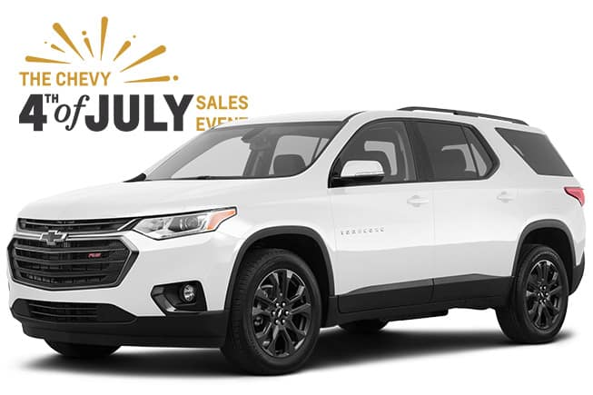 4th of July Chevrolet Sales Event Traverse