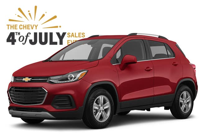 4th of July Chevrolet Sales Event Trax