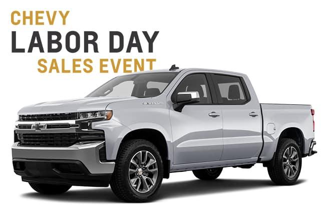 Chevy Labor Day Sales Event Silverado
