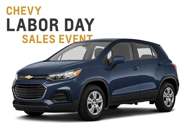 Chevy Labor Day Sales Event TRax