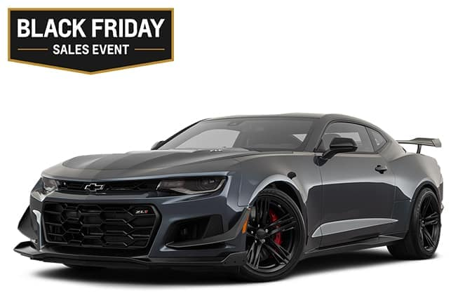 Chevy Camaro ZL1 Black Friday Sales Event