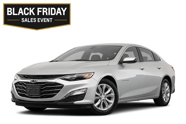 Chevy Malibu LT Black Friday Sales Event
