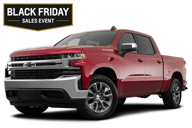 Chevy Silverado 1500 LTZ Black Friday Sales Event