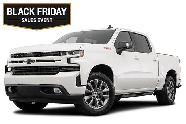 Chevy Silverado RST Black Friday Sales Event