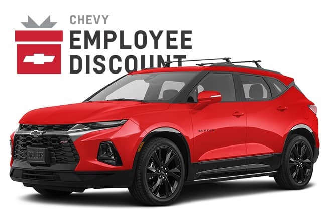 Blazer RS Chevy Employee Discount