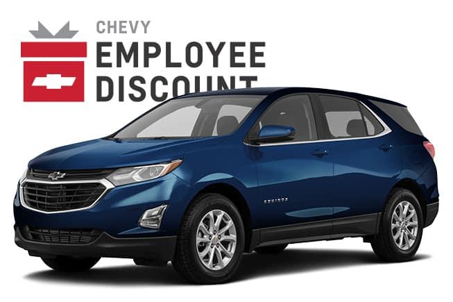2019 Chevy Equinox Employee Discount