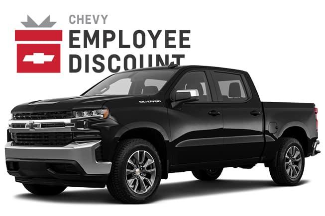 2019 Silverado 1500 RSTc  Chevy Employee Discount