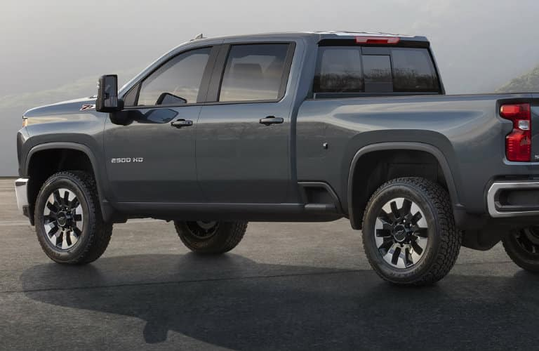 2020 Chevrolet Silverado HD rear side view
