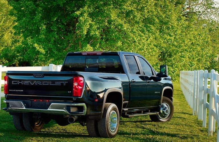 2020 Chevrolet Silverado 3500 HD rear view