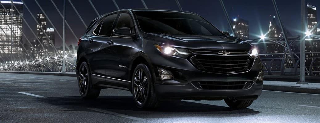 dark 2020 Chevrolet Equinox in the dark