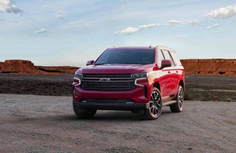 2020 Chevrolet Tahoe front view