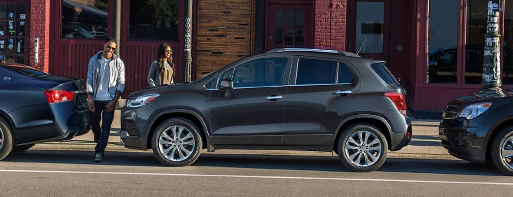2020 Chevrolet Trax side view