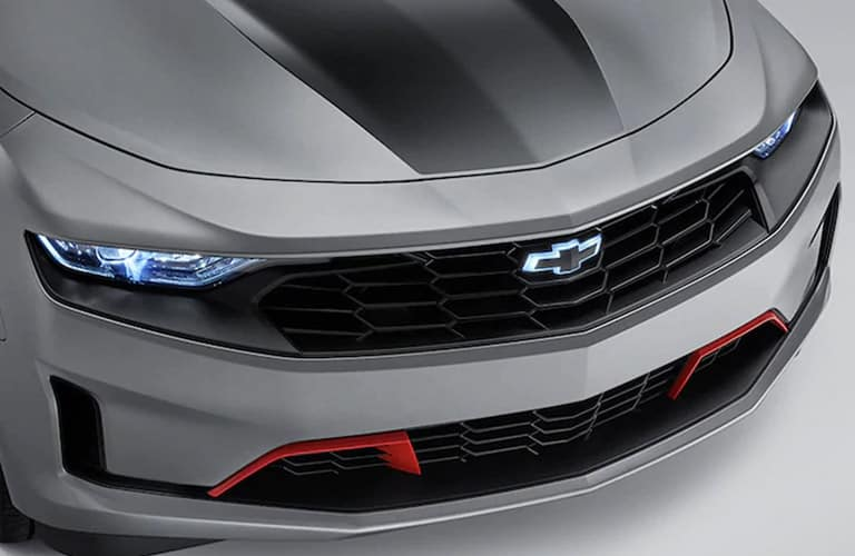 2020 Chevrolet Camaro front grille close up