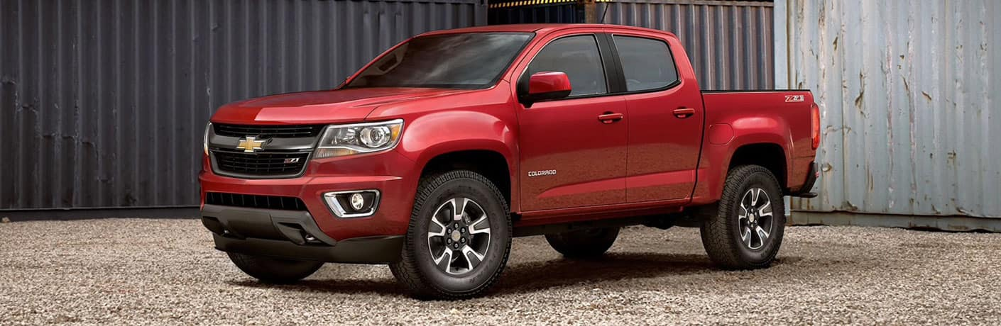 2020 Chevrolet Colorado front side view