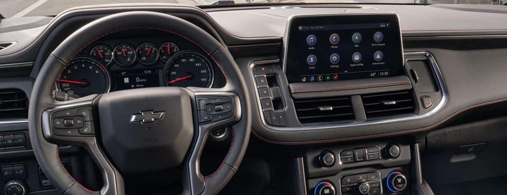 2021 Chevrolet Tahoe front seats