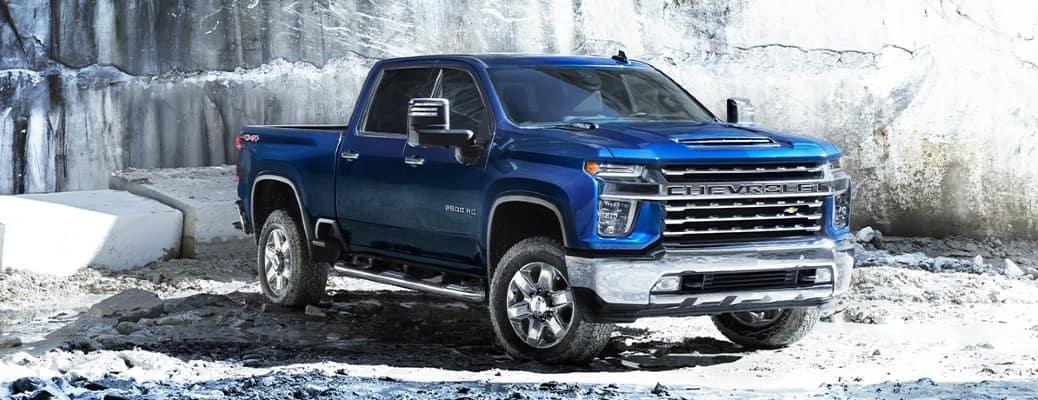 2020 Chevrolet Silverado HD front view