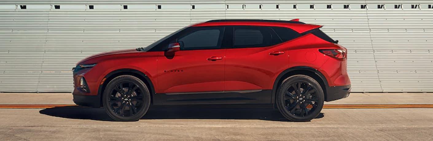 2021 Chevrolet Blazer side view