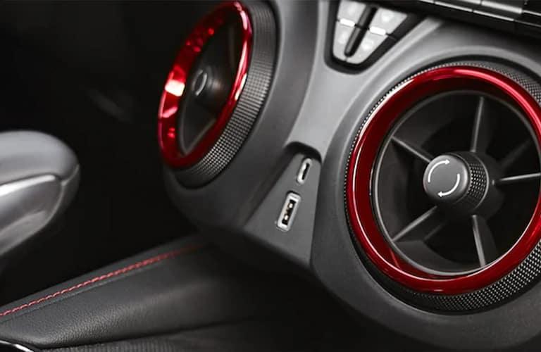 2021 Chevrolet Blazer air vents