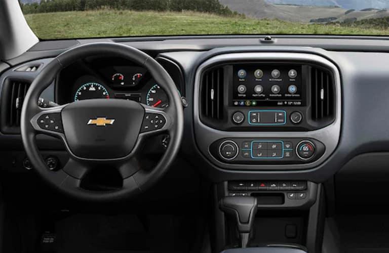 2021 Chevrolet Colorado steering wheel