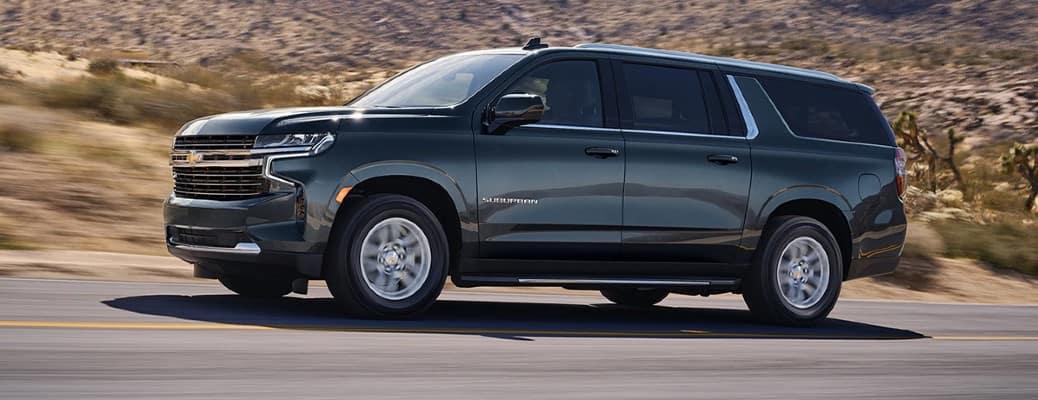 2021 Chevrolet Suburban side view