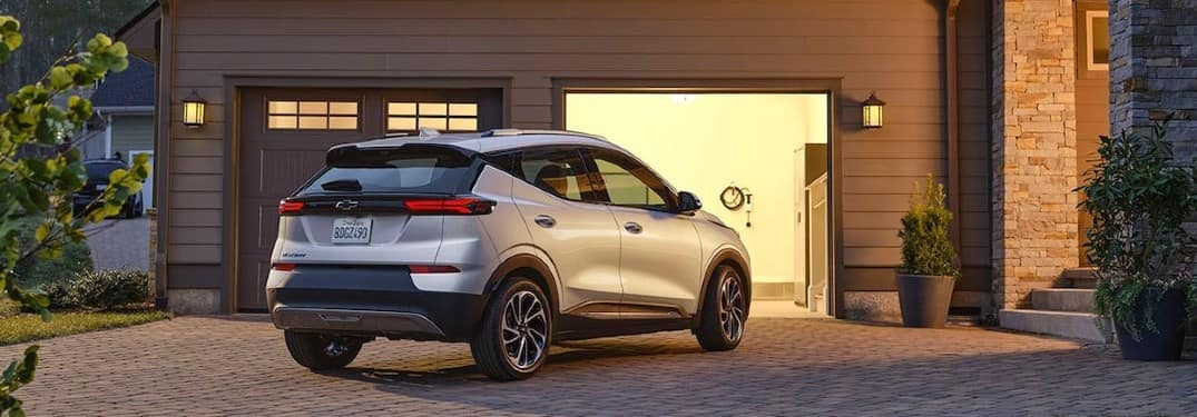 2022 Chevy Bolt EUV parked in a driveway