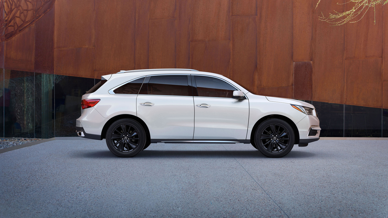 2017 Acura MDX Exterior Side Profile