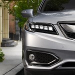 2017 Acura RDX Exterior Front Angle