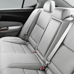 2017 Acura TLX Interior Rear Seating
