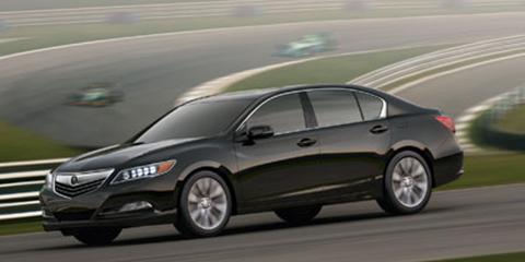 2016 Acura RLX Agile Handling Assist