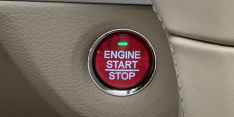 2016 Acura RLX Keyless Access System