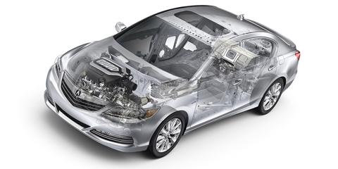 2016 Acura RLX Sport Hybrid Motor System