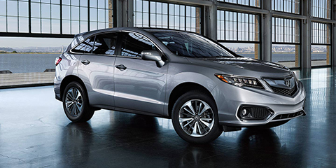 2017 Acura RDX ACE Body Structure