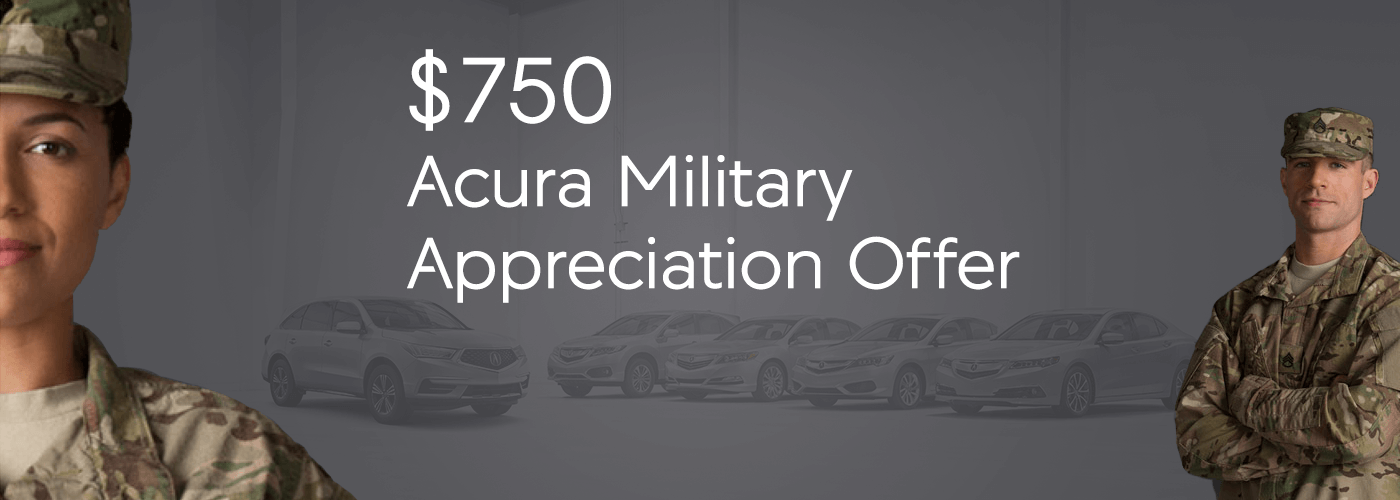 Central Texas Acura Military Appreciation Offer