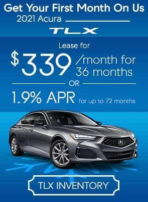 TLX LEase for $339/mo for 36 months